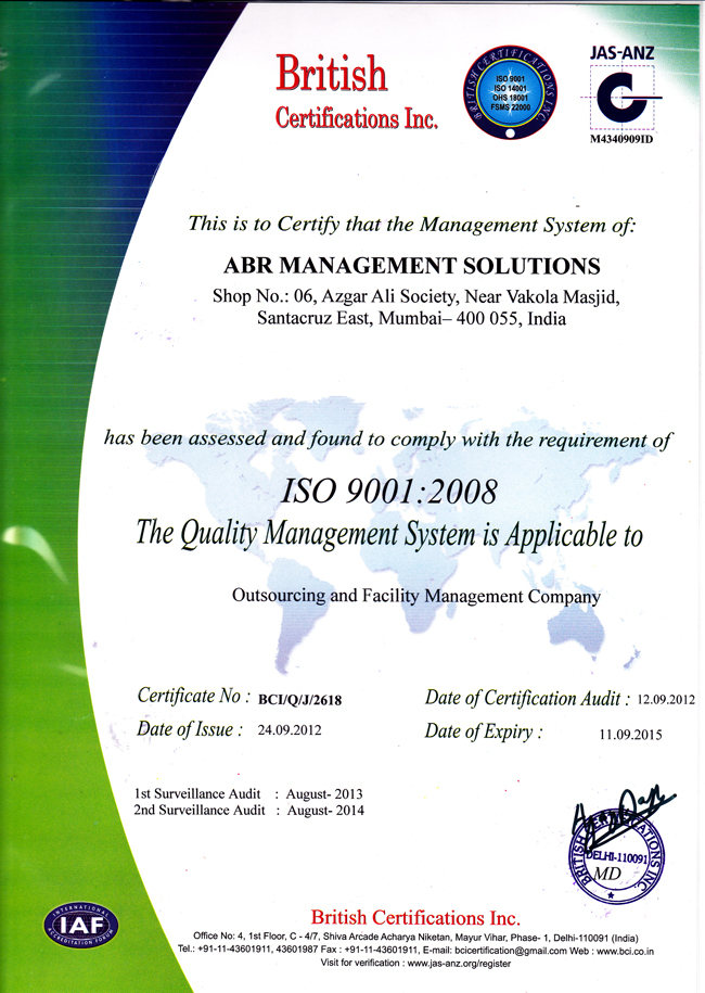 Abr Management Solutions Home